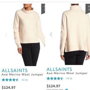All Saints AXA Merino Wool Jumper